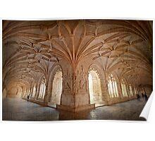 Jerónimos Monastery Poster
