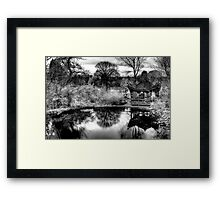A Quiet Retreat Framed Print