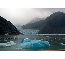 Glacier Bay Iceberg and Glacier Photographic Print