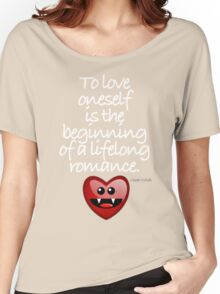 TO LOVE ONESELF Women's Relaxed Fit T-Shirt