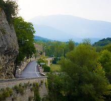 Road to Mont Ventoux by Dan Lauf
