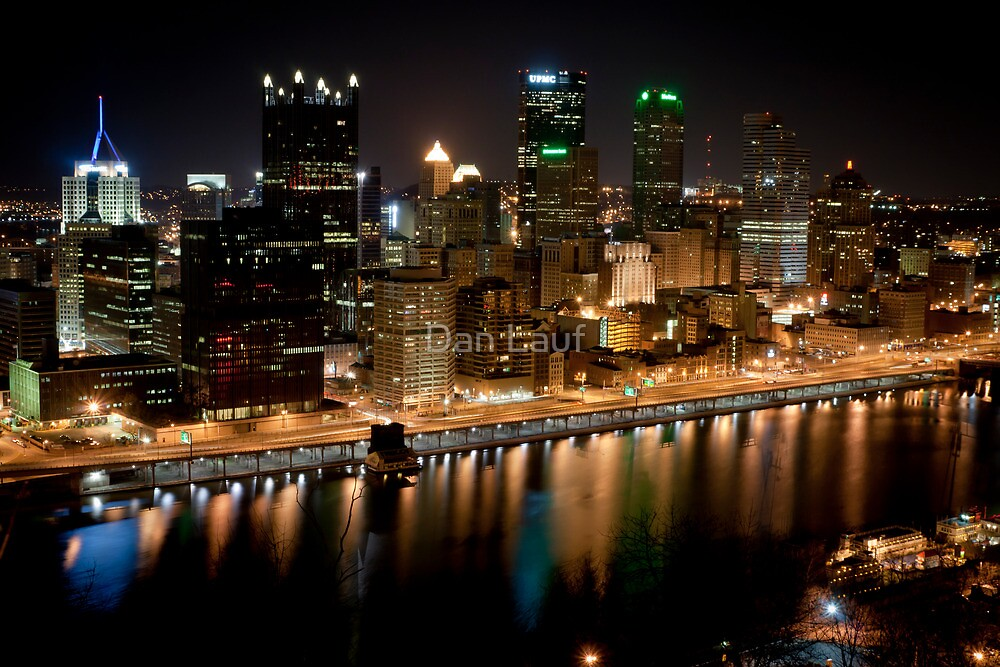 Pittsburgh Skyline by Dan Lauf