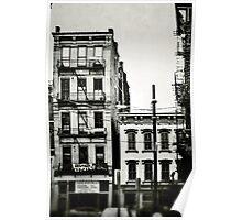 Old Buildings - Downtown Cincinnati Poster
