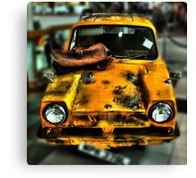 Del Boy's wheels  Canvas Print