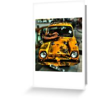 Del Boy's wheels  Greeting Card