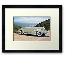 1934 LaSalle Convertible Coupe Framed Print