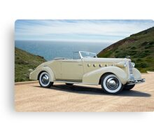 1934 LaSalle Convertible Coupe Canvas Print