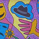 Wall Art in Orange, NJ by quiltmaker