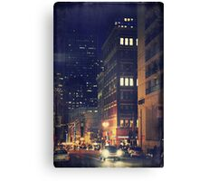 Nights Downtown Canvas Print