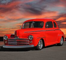 1947 Ford Super Deluxe Coupe 'Sunset Coupe' by DaveKoontz