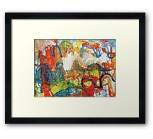 there and back Framed Print