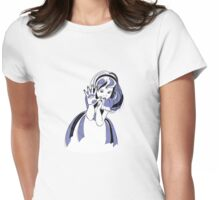 Alice through the looking glass t-shirt/sticker Womens Fitted T-Shirt