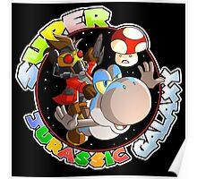 Super Jurassic Galaxy Gaming Adventure Mashup Poster