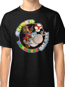 Super Jurassic Galaxy Gaming Adventure Mashup Classic T-Shirt