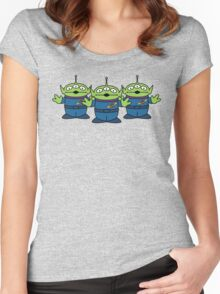 Aliens (Toy Story) Women's Fitted Scoop T-Shirt