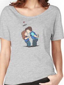 castle kiss Women's Relaxed Fit T-Shirt