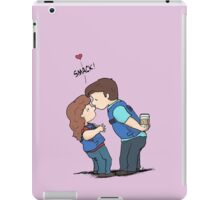 castle kiss iPad Case/Skin
