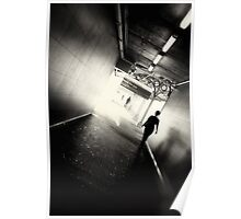 Walking towards the light.... Poster