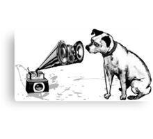 Master Voice Canvas Print