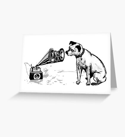 Master Voice Greeting Card