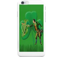 ❁◕‿◕❁ OLD IRELAND I BIT THEE THE TOP OF THE MORNIN ❁◕‿◕❁  iPhone Case/Skin