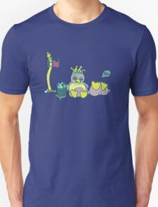 Penguin Capture the flag- defend with snowballs- snack with boredom Unisex T-Shirt