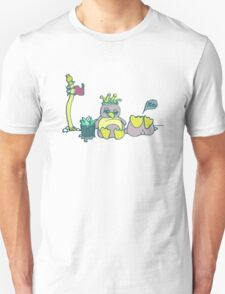 Penguin Capture the flag- defend with snowballs- snack with boredom T-Shirt