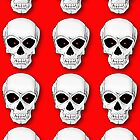 Red Skulls by LawrenceA