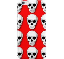 Red Skulls iPhone Case/Skin