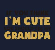You Should See My Grandpa Kids Tee
