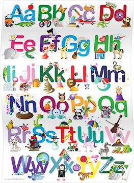 Alphabet for kids by Lauren Eldridge-Murray