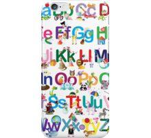 Alphabet for kids iPhone Case/Skin