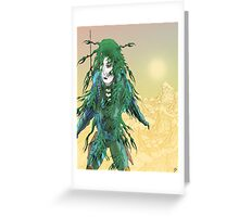 Baroness Greenback Greeting Card