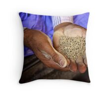 Chewing Tobacco Throw Pillow