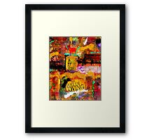 The Art of Loving Framed Print