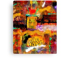 The Art of Loving Canvas Print