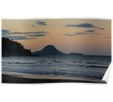 Ohope Beach Sunset Poster