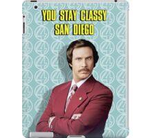 You Stay Classy San Diego, Ron Burgundy - Anchorman iPad Case/Skin