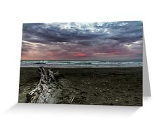 Sunset Over Ohope Greeting Card