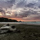 Ohope Sunset by Russell Charters