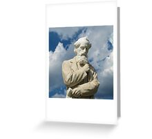 Charles Dickens Greeting Card