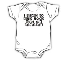 Punk Rock With My Mommy One Piece - Short Sleeve