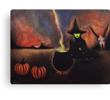 Wicca Canvas Print