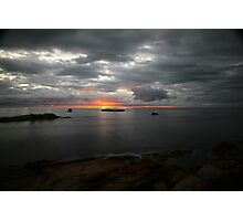perfect day. bicheno, tasmania Photographic Print