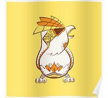 Pidgey Pokemuerto | Pokemon & Day of The Dead Mashup Poster