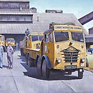 Foden lorries. by Mike Jeffries