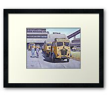 Blue Circle Foden S18  Framed Print