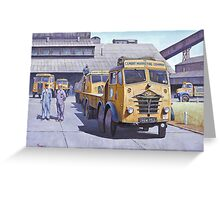 Blue Circle Foden S18  Greeting Card