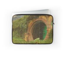 The Bag End Hobbit House Lord of the Rings Shire Illustration Dictionary Art Laptop Sleeve