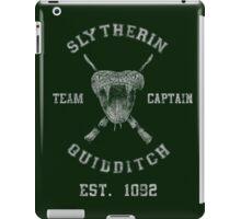 Slytherin Quidditch iPad Case/Skin